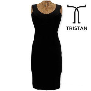 Tristan Black Bandage Dress medium